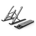 Adjustable Foldable Tablet and Laptop Stand - Black