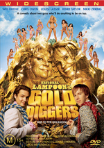 National Lampoon's Gold Diggers on DVD