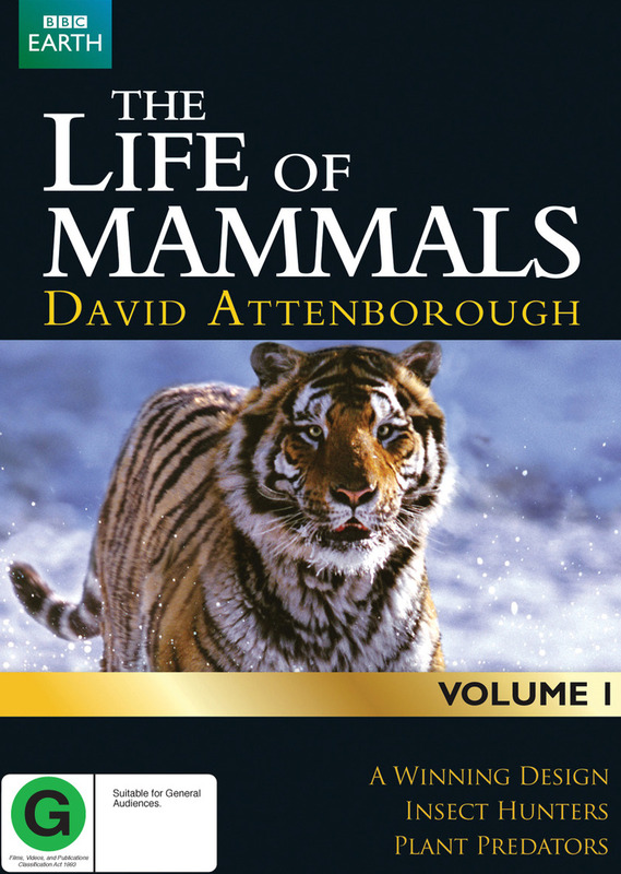 David Attenborough's Life of Mammals - Volume 1 on DVD