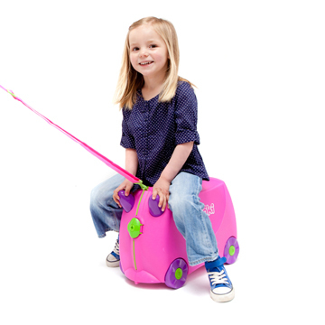 Trunki Ride-On Case (Trixie/Pink) image