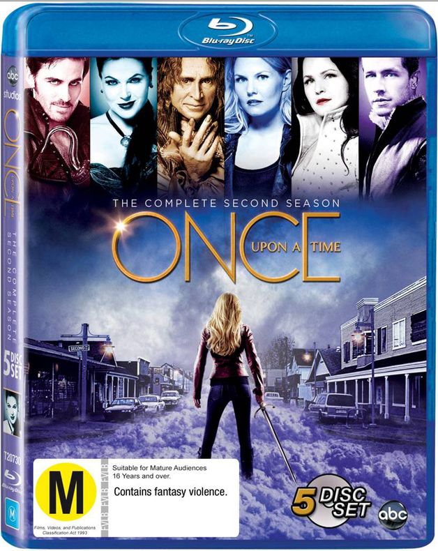 Once Upon a Time - The Complete Second Season on Blu-ray