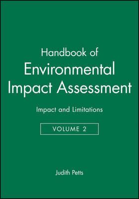 Handbook of Environmental Impact Assessment image
