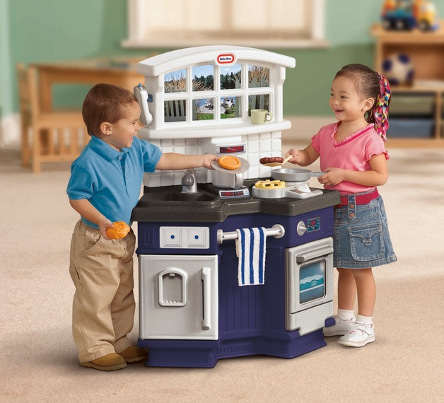 Little Tikes Side By Side Play Kitchen Toy At Mighty Ape Australia