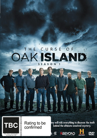 The Curse of Oak Island - Season 1 on DVD