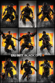 Call Of Duty Black Ops 4 Maxi Poster - Characters (888)