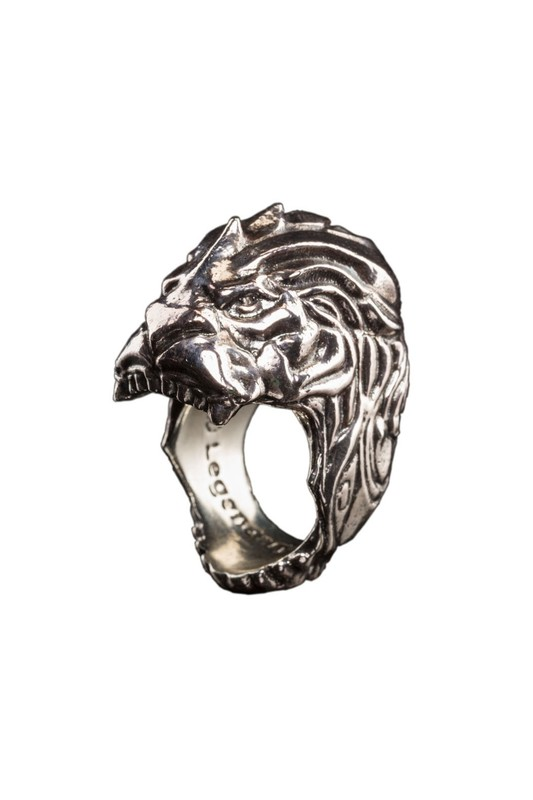 Warcraft Movie: King LLane Lion Head Ring (Size 8)