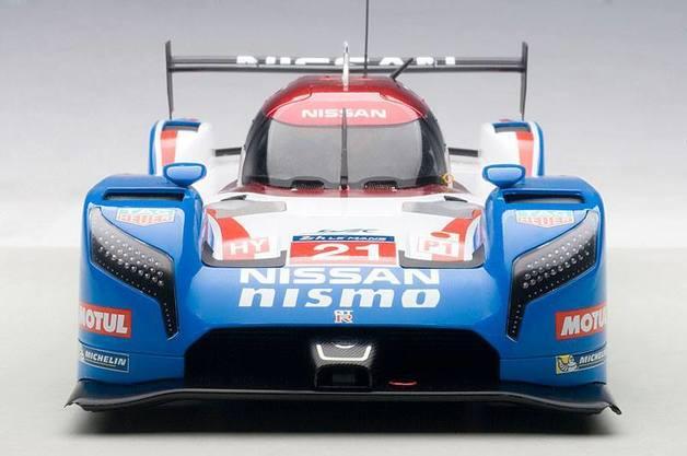 Autoart: 1/18 Nissan GT-R LM Nismo Lemans 2015 - Diecast Model