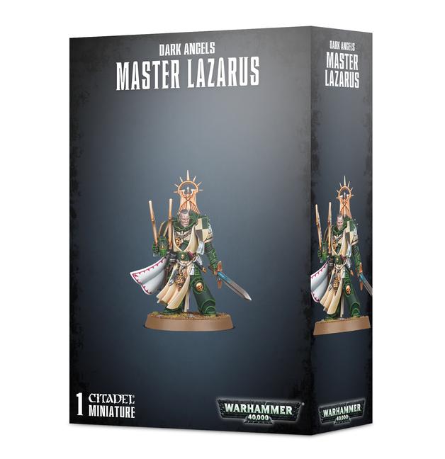 Warhammer 40,000: Dark Angels Master Lazarus