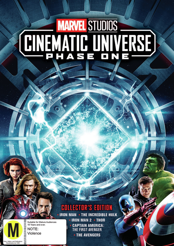 Marvel Cinematic Universe: Phase One Box Set on DVD