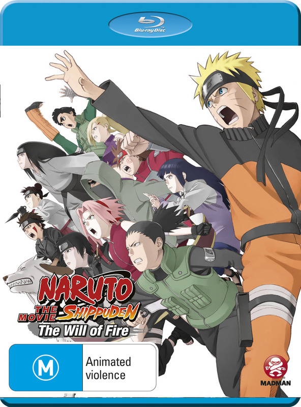 Naruto Shippuden Movie 3: The Will of Fire on Blu-ray