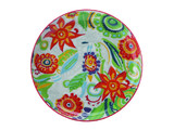 Christopher Vine Gypsy Tapas Plate - Red (18.5cm)