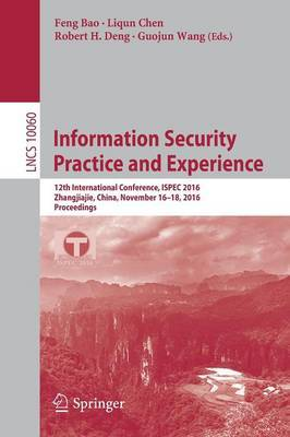 Information Security Practice and Experience image