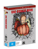 One Punch Man - The Complete Season 1 (4 Disc Set) on DVD, Blu-ray