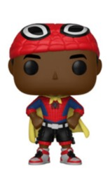 Spider-Man: ITSV - Miles Morales (with Cape) Pop! Vinyl Figure