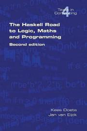 The Haskell Road to Logic, Maths and Programming: v. 4 by Kees Doets image