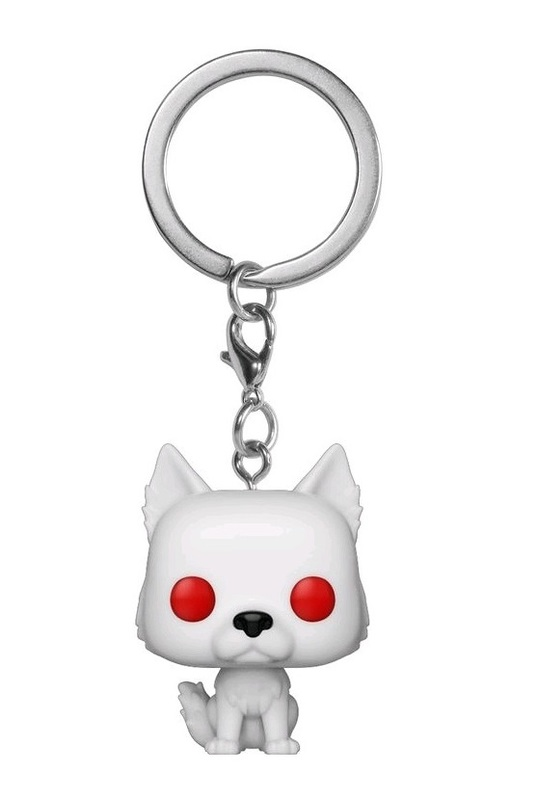 Game of Thrones - Ghost Pocket Pop! Keychain