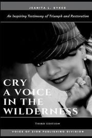 Cry by Jeanita L. Sykes image
