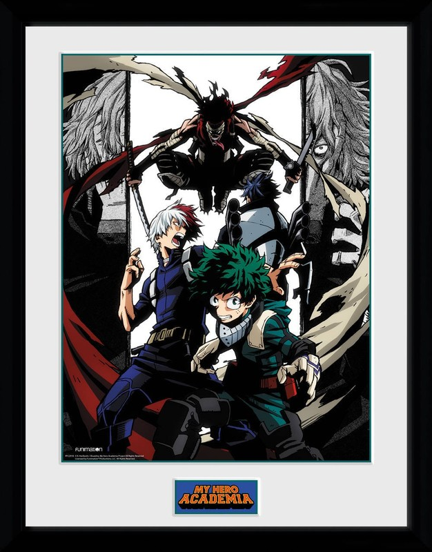 My Hero Academia: Heroes and Villains - Collector Print (41x30.5cm)
