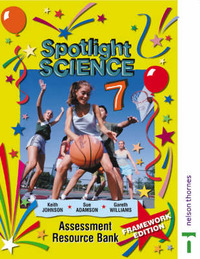 Spotlight Science Assessment Resource Bank 7 by Gareth Williams image