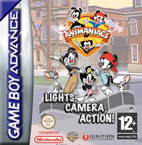 Animaniacs: Lights, Camera, Action for Game Boy Advance