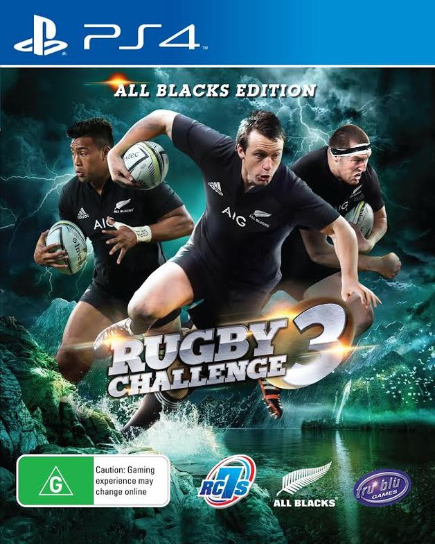 All Blacks Rugby Challenge 3 for PS4