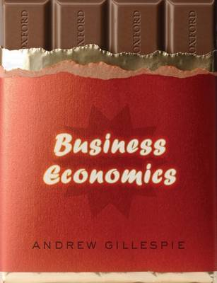 Business Economics by Andrew Gillespie image