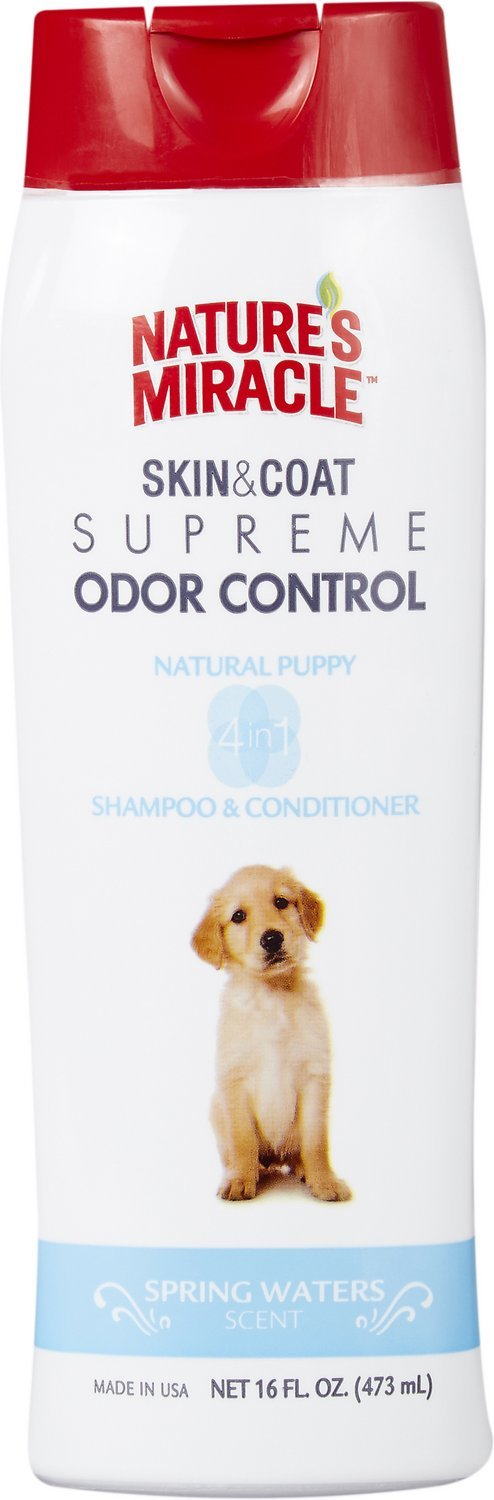 Natures Miracle: Natural Puppy Shampoo and Conditioner 473ml image