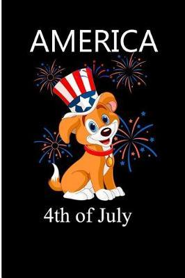 American 4th July by Debby Prints