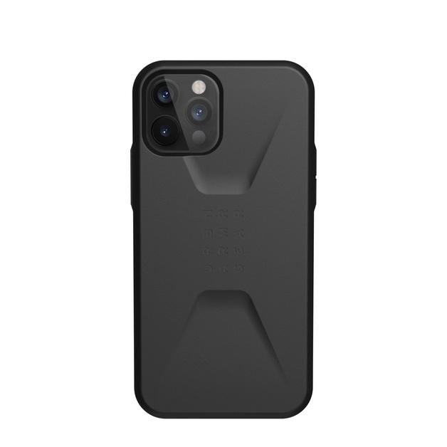 UAG Civilian for iPhone 12 / 12 Pro - Black