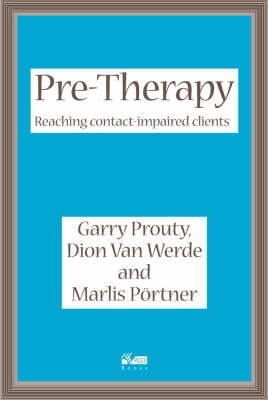 Pre-Therapy by Garry F. Prouty image