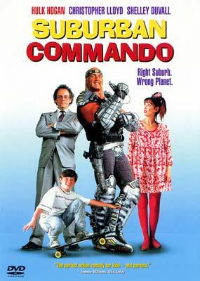Suburban Commando  on DVD image