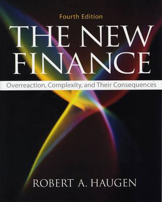 The New Finance by Robert A. Haugen