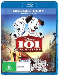 101 Dalmatians - Double Play (DVD/Blu-ray) DVD