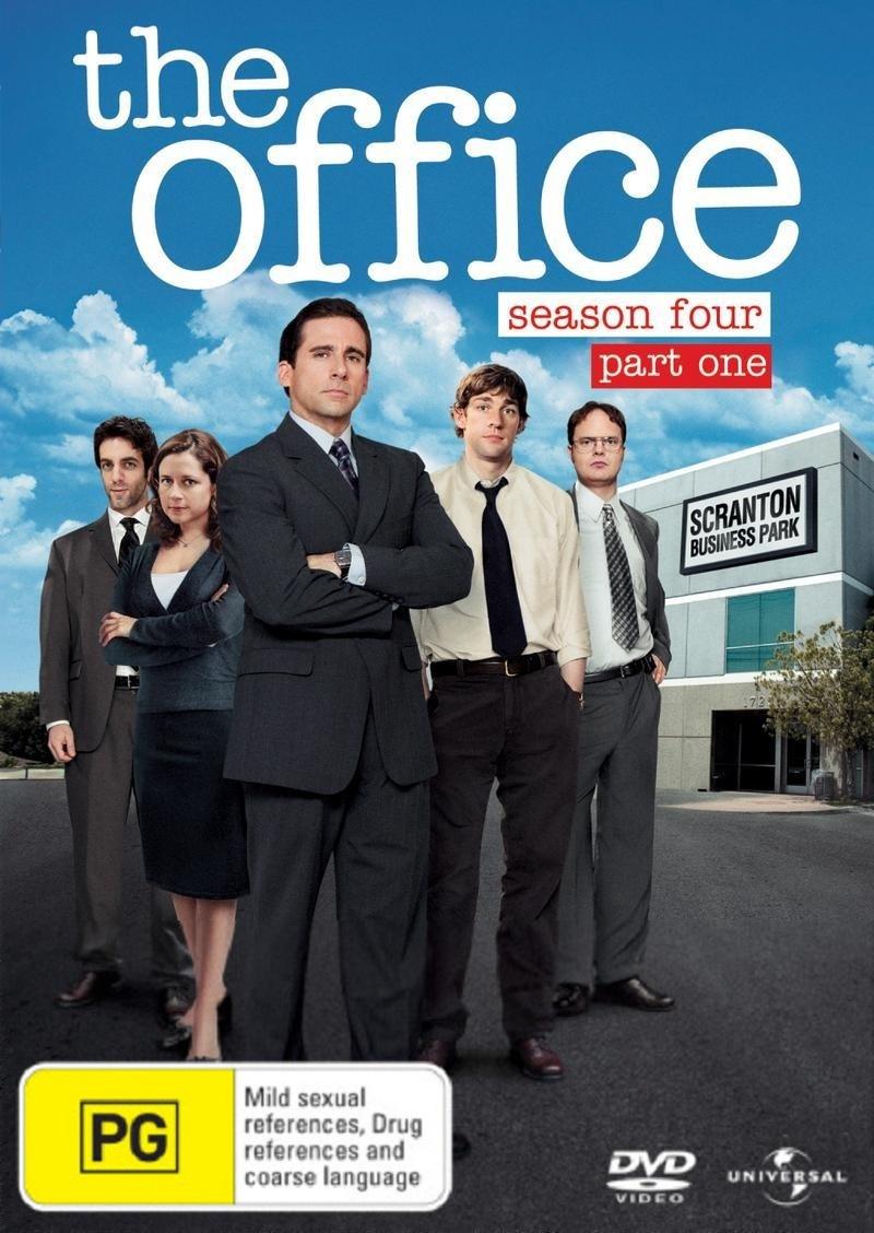 The Office (US) Season 4 Part 1 on DVD image