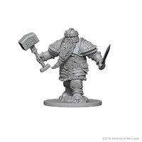 D&D Nolzur's Marvelous: Unpainted Minis - Dwarf Male Fighter