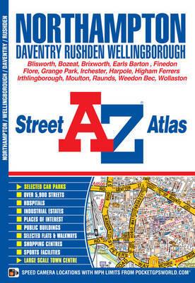 Northampton & Wellingborough Street Atlas by Geographers A-Z Map Company image