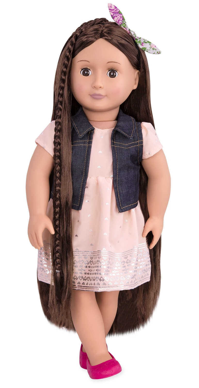"""Our Generation: 18"""" Hairgrow Doll - Kaelyn image"""
