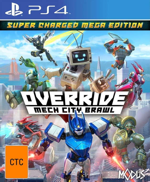 Override: Mech City Brawl - Super Charged Mega Edition for PS4