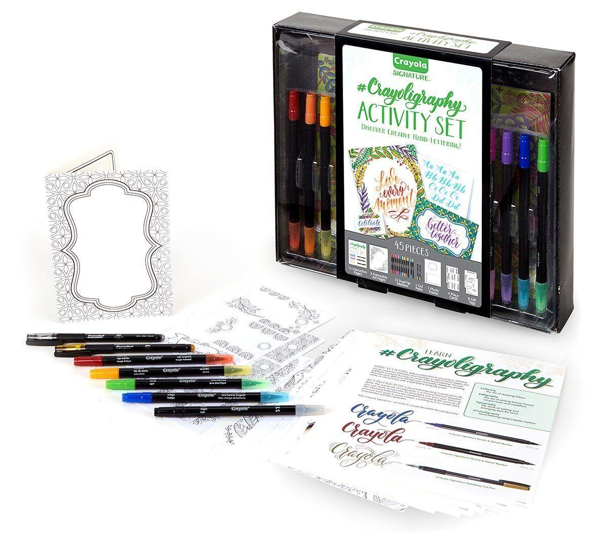 Crayola: Signature - Crayoligraphy Activity Set (45pc) image