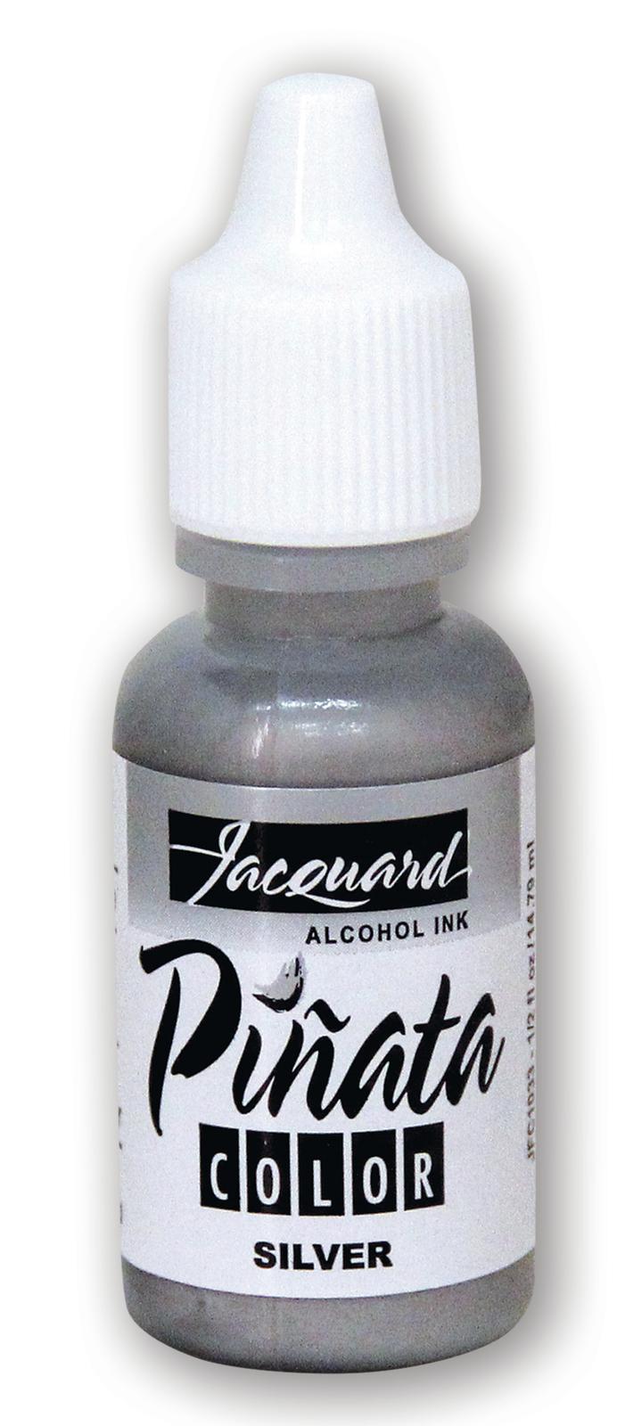 Jacquard: Pinata Alcohol Ink - Silver 033 (14.79ml) image