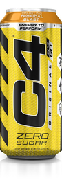 Cellucor: C4 Carbonated On-The-Go RTD - Tropical Blast (473ml) image