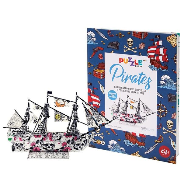 IS GIFT: Puzzle Book - Pirates