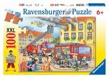 Ravensburger 100 Piece Jigsaw Puzzle - Fire Brigade