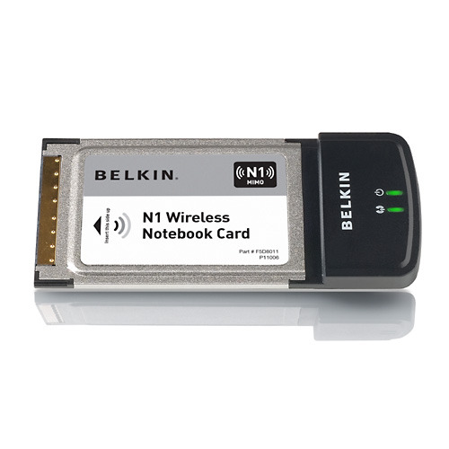 Belkin N1 Wireless NoteBook Card