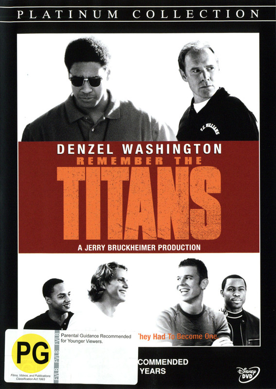 Remember The Titans on DVD