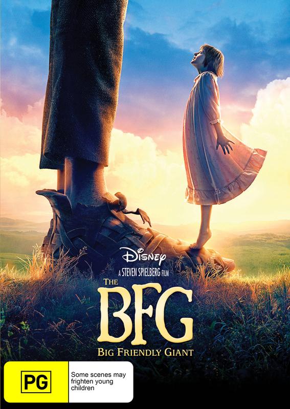 The BFG on DVD