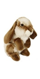 Nibbles Rabbit - Brown 18cm