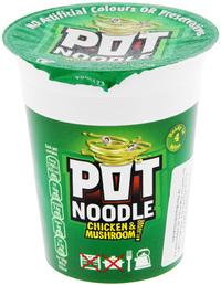 Pot Noodle Chicken & Mushroom (90g)