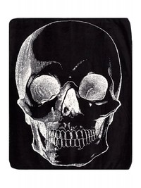 Sourpuss: Skull Blanket