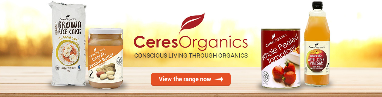 Ceres Organics in stock now!